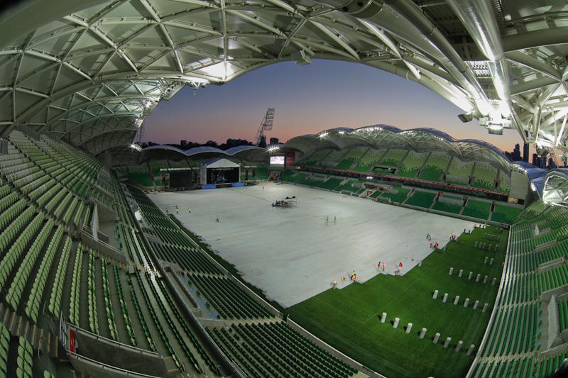 Protectie gazon stadion